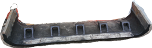 Козырёк ковша Экскаватора (материал сталь 110Г13Л)